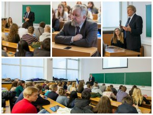 Лекционный курс в МИФИ / Lecture course in...