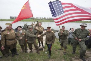 Russia and the U.S. 70 years after Allied victory in WWII