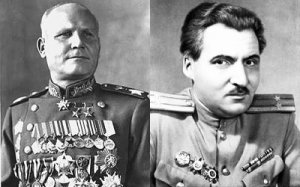 БЕСЕДЫ И.С. КОНЕВА И К.М. СИМОНОВА О ВСТРЕЧЕ НА ЭЛЬБЕ....